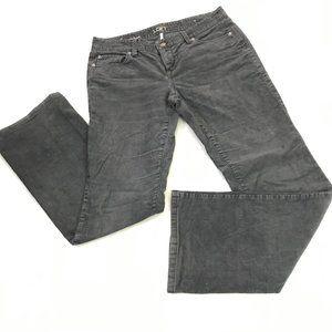 Ann Taylor Loft Gray Curvy Boot Corduroy Jeans 4